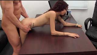 Petite Latina Doggystyle on the Casting Couch
